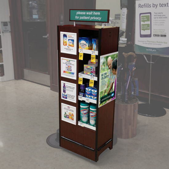 Safeway Pharmacy Display