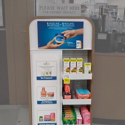 Kroger Pharmacy Display